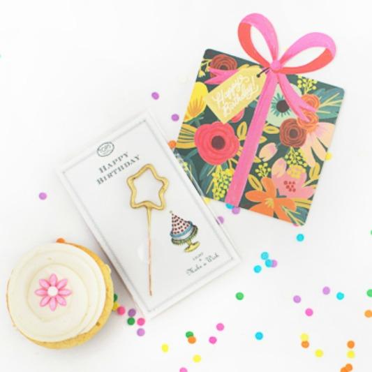 dots-cupcake-birthday-package-sparkler